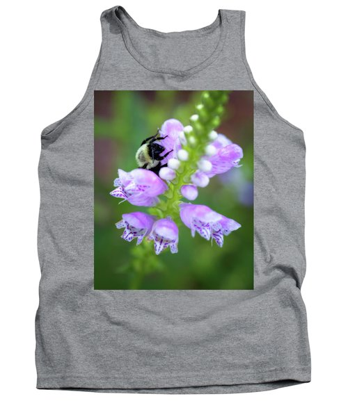 Tank Top featuring the photograph Flower Climbing by Eduard Moldoveanu