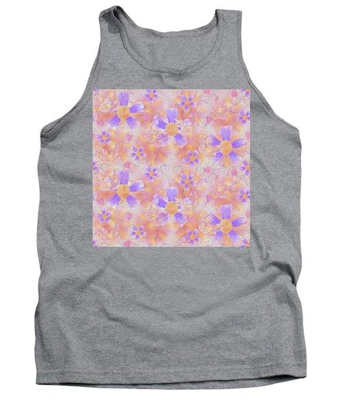 Flower Clown Pattern Tank Top