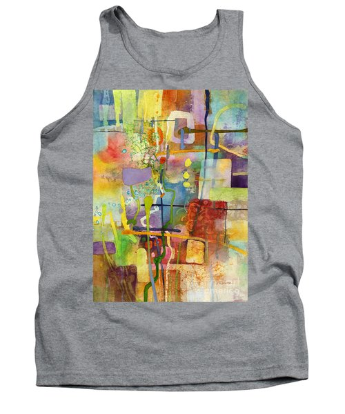 Flower Dance Tank Top by Hailey E Herrera