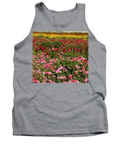 Flower Fields Tank Top