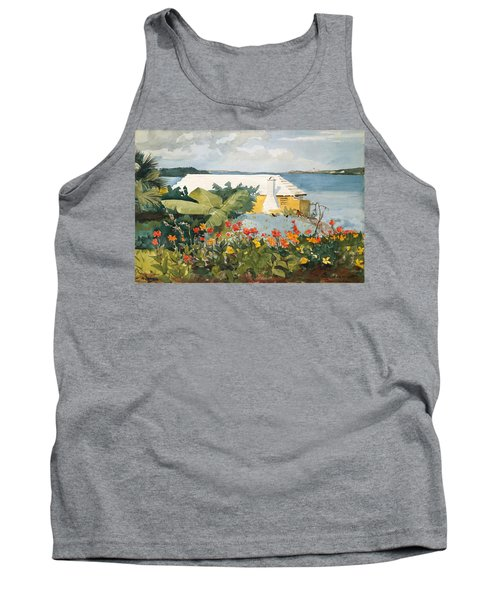 Flower Garden And Bungalow Tank Top