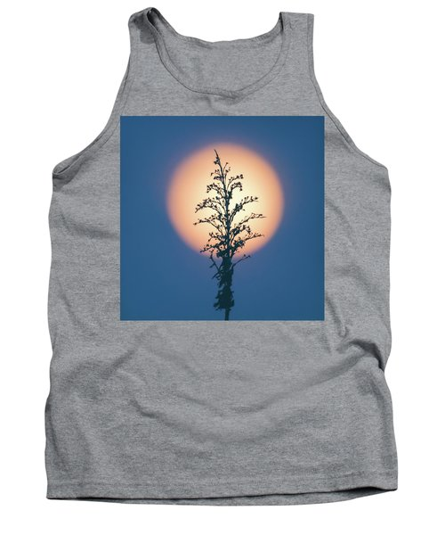 Flower Moon May 2017 Square Tank Top by Terry DeLuco