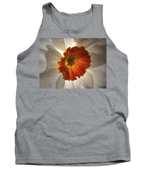 Flower Narcissus Tank Top by Nancy Griswold