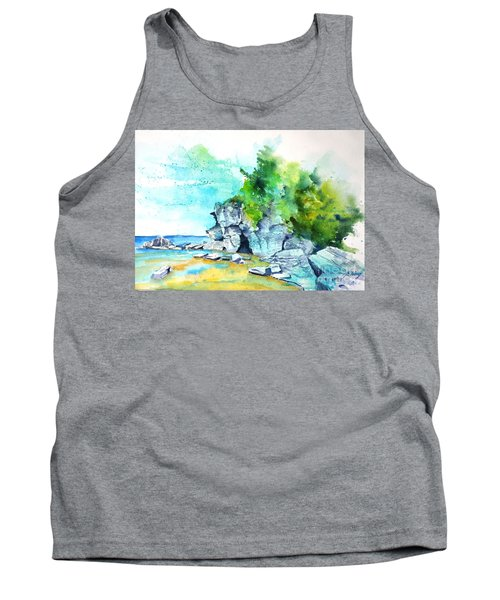 Flower Pot Island Tank Top