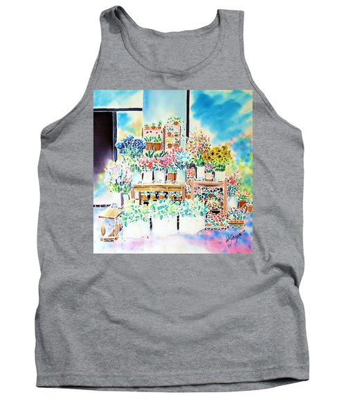 Flower Shop In Paris Tank Top