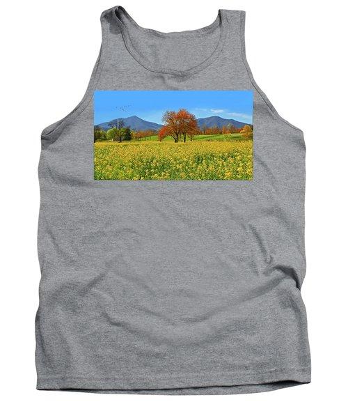 Flowering Meadow, Peaks Of Otter,  Virginia. Tank Top