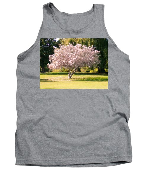 Flowering Tree Tank Top by Mark Barclay