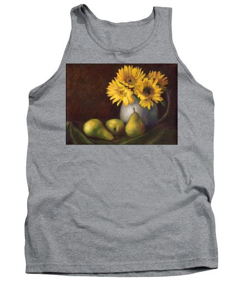 Flowers And Fruit Tank Top by Janet King