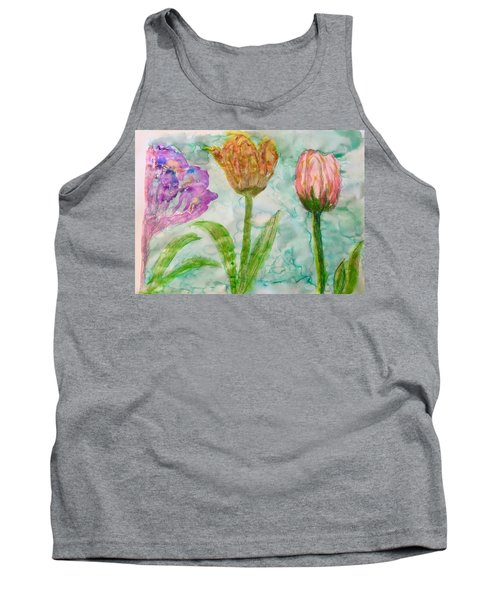 Tulips A'bloom Tank Top