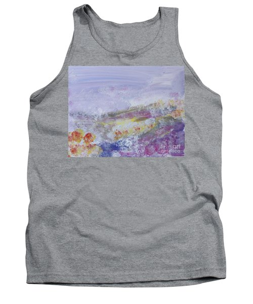 Flowers In The Ether Tank Top