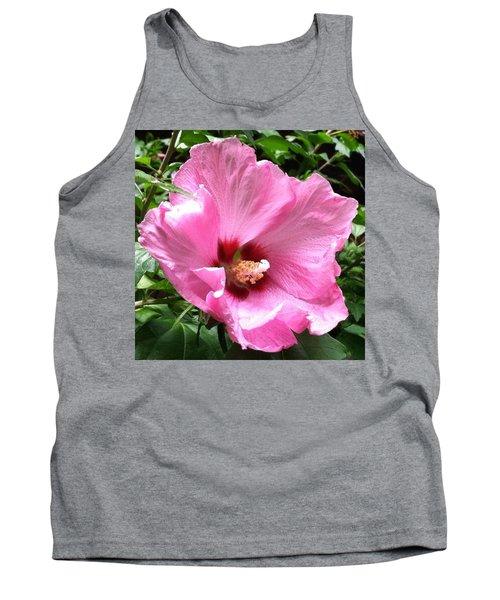 #flowers #pink #floral Tank Top