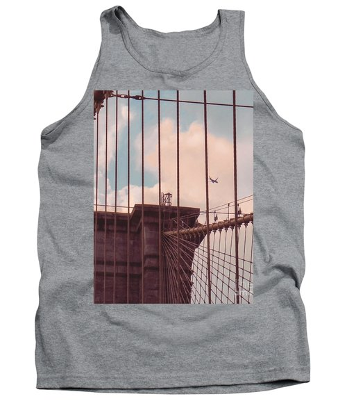 Fly Over Brooklyn  Tank Top