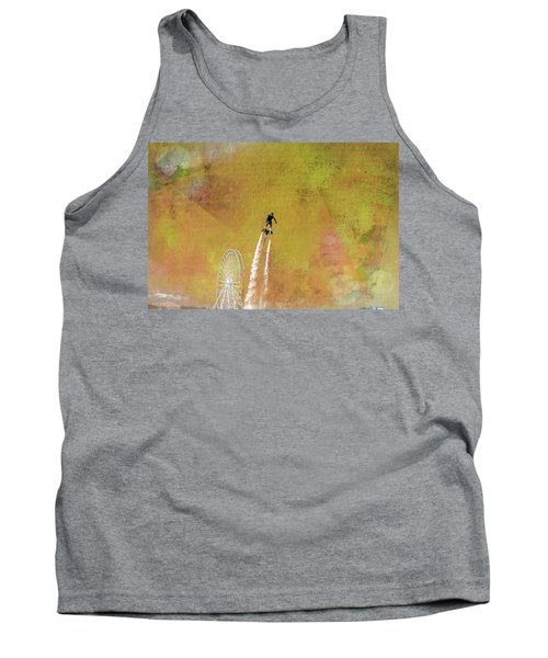 Flyboard, Sketchy And Painterly Tank Top