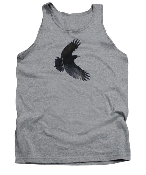 Tank Top featuring the photograph Flying Crow by Bradford Martin