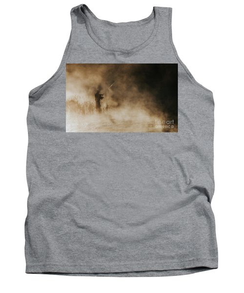Tank Top featuring the photograph Flying Fishing by Iris Greenwell