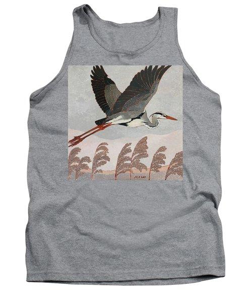 Flying Heron Tank Top
