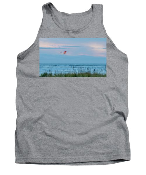 Flying High Over The Pacific Tank Top