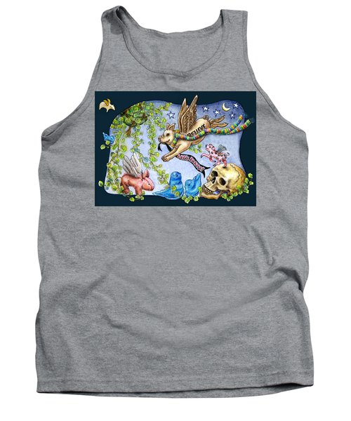 Flying Pig Party 2 Tank Top