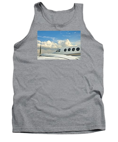 Flying Time Tank Top by Carolyn Marshall