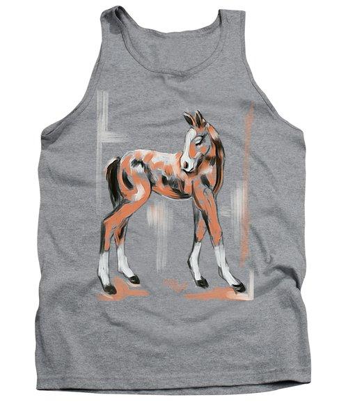 Foal Peach Tank Top