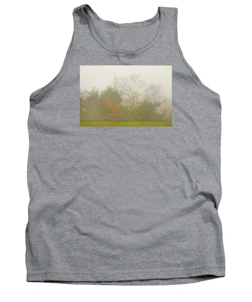 Tank Top featuring the photograph Fog In Autumn by Wanda Krack