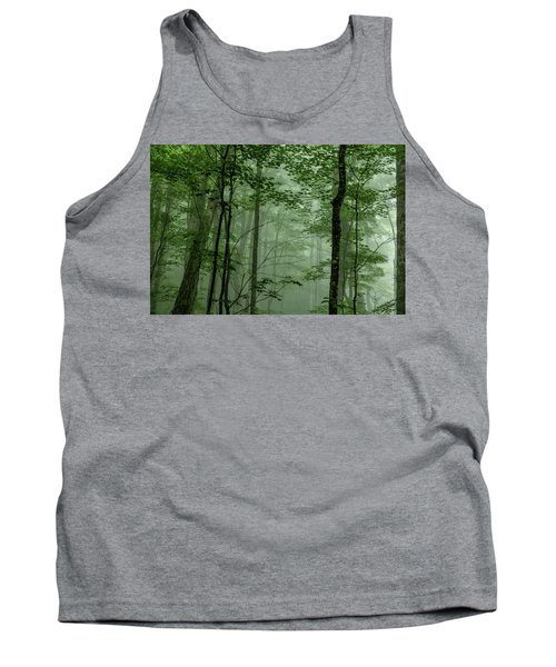 Fog In The Forest Tank Top