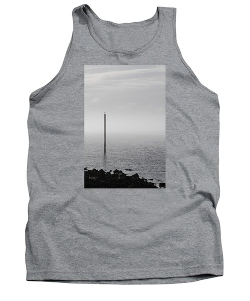 Fog On The Cape Fear River On Christmas Day 2015 Tank Top