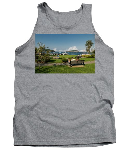 Fog Show Over The Porcupine Islands Tank Top