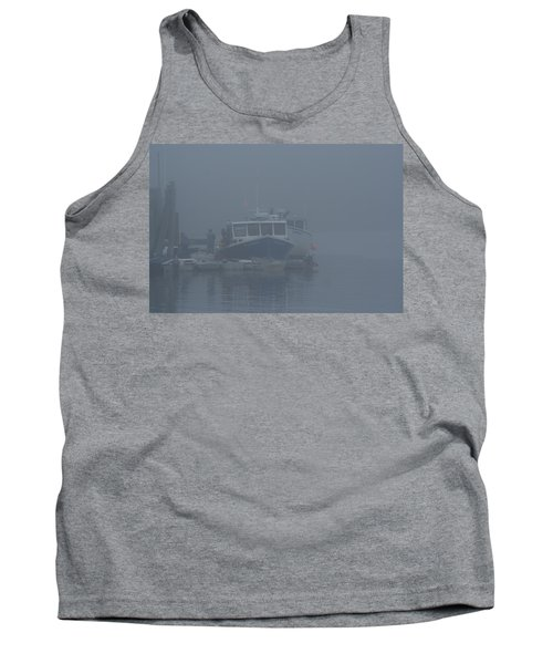 Fogged In At Owls Head Tank Top