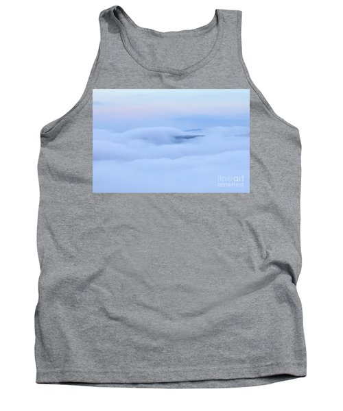 Tank Top featuring the photograph Foggy Layers by Kerri Farley