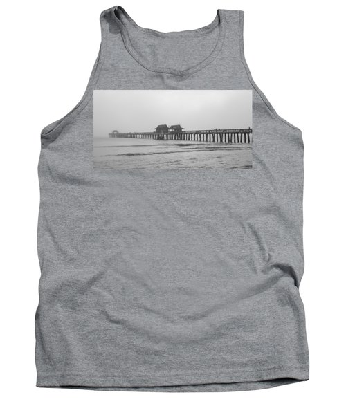 Foggy Pier Tank Top