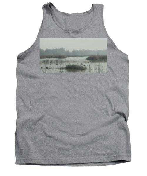 Foggy Wetlands Tank Top