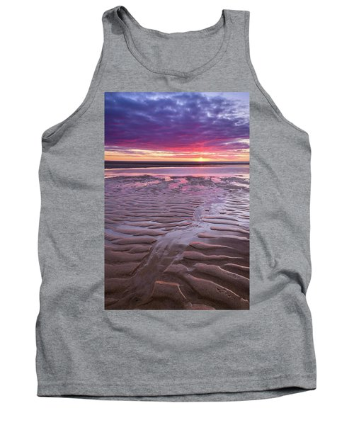 Folds In The Sand - Vertical Tank Top