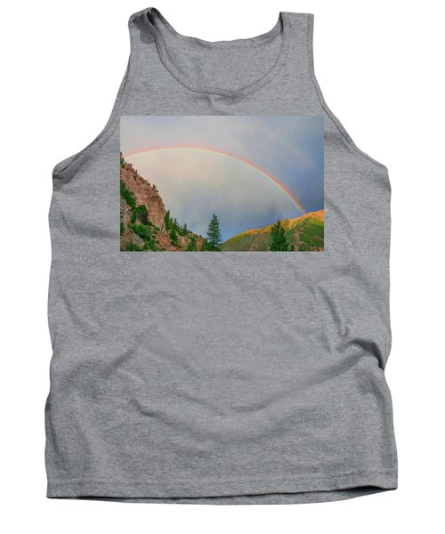 Follow The Rainbow To The Majestic Rockies Of Colorado.  Tank Top