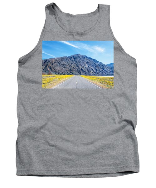 Follow The Yellow Lined Road Tank Top