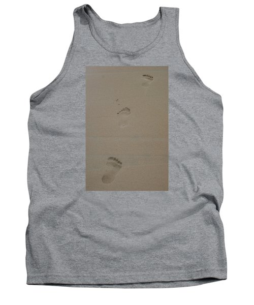 Tank Top featuring the photograph Footprint by Heidi Poulin