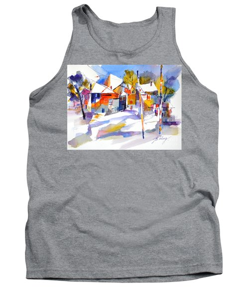 For Love Of Winter #2 Tank Top by Betty M M Wong