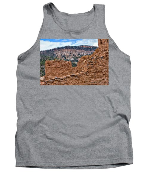 Tank Top featuring the photograph Forbidding Cliffs by Alan Toepfer