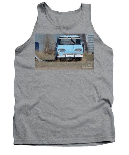 Ford Light Blue Tank Top