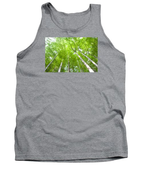 Tank Top featuring the photograph Forest 1 by Jean Bernard Roussilhe