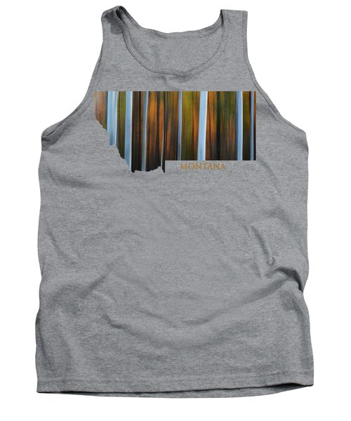 Forest Illusions-montana Tank Top