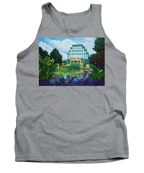 Forest Park Jewel Box Tank Top by Michael Frank