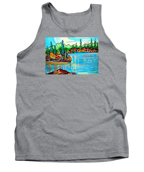 Forgotten Lake Tank Top