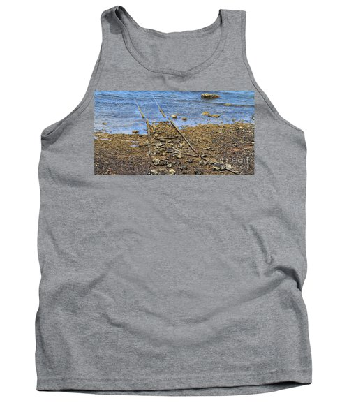 Forgotten Line II Tank Top by Stephen Mitchell