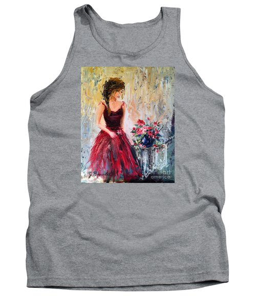 Forgotten Rose Tank Top