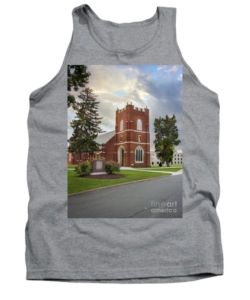 Fork Union Military Academy Wicker Chapel Sized For Blanket Tank Top