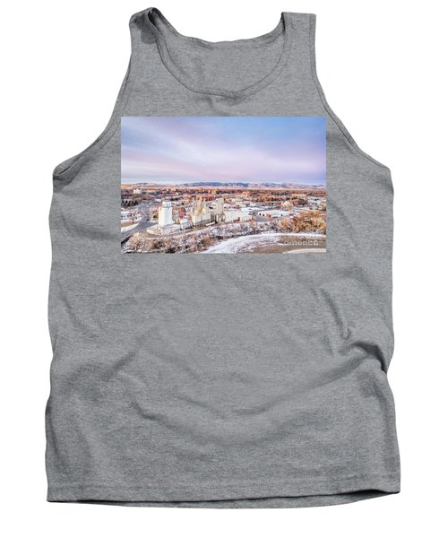 Fort Collins Aeiral Cityscape Tank Top