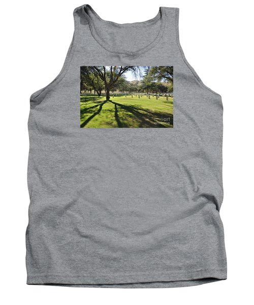 Tank Top featuring the photograph Fort Huachuca Post Cemetery by Gina Savage