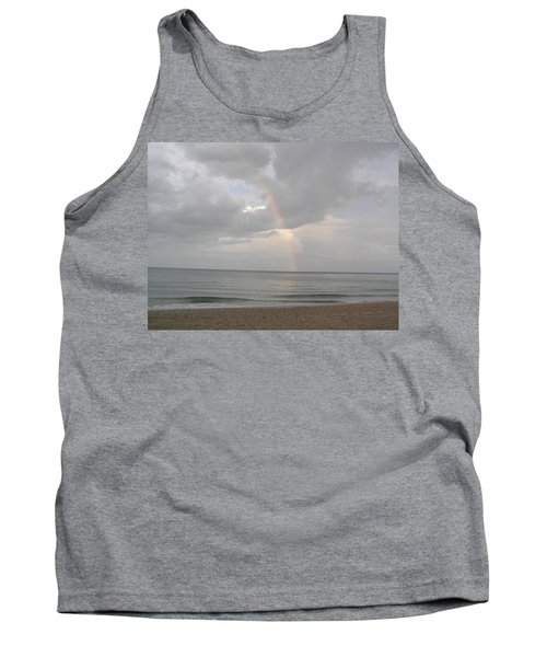 Tank Top featuring the photograph Fort Lauderdale Rainbow by Patricia Piffath