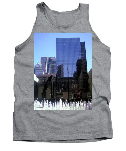 Fountain View Tank Top